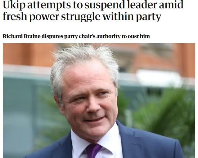 UKIP's paranoid Braine