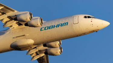 Cobham in flight