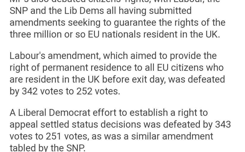 Government refuses to honour pledge to Europeancitizens.
