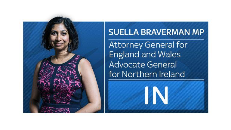 Suella Braverman attorney general