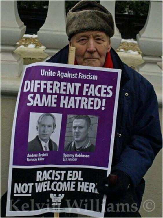 Tony Benn Unite against fascism