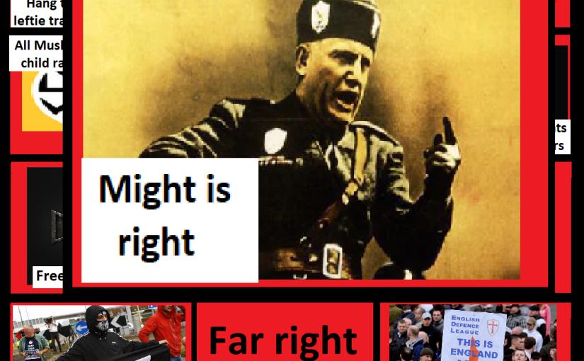Far right bingo card: Might isright