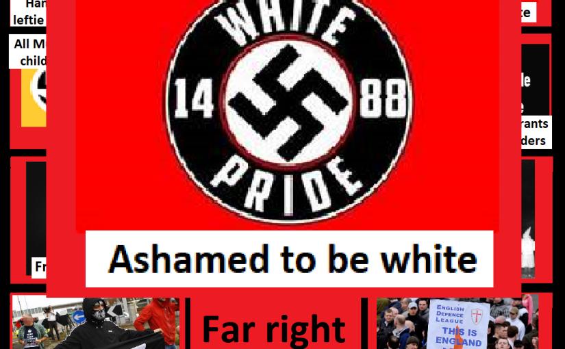 Far right bingo card: Ashamed to bewhite