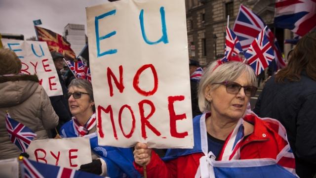 A Brexiteer's Godsend